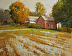 An Early Autumn Dusting by Paul Bachem Oil ~ 11 x 14