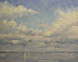 Regatta by Paul Bachem Oil ~ 8 x 10