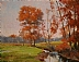Thanksgiving Red by Paul Bachem Limited Edition Print ~ 8 x 10