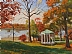 Morgan Park ~ Autumn 2008 by Paul Bachem Limited Edition Print ~ 11 x 14