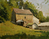 Ardrosson Barn by Paul Bachem Oil ~ 8 x 10