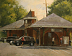 Morning Rush ~ Glen Cove Station by Paul Bachem Oil ~ 11 x 14