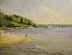 Crescent Beach July 4th 2012 by Paul Bachem Oil ~ 11 x 14