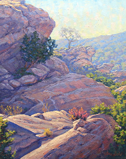 Sandstone Beauty Landscape Painting - Oil