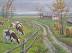 Winding Farm Road by Mike Battenberg