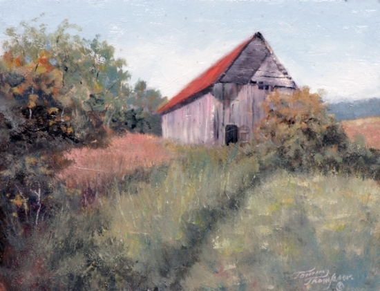 Memories of Growing up on a Family Farm - Oil