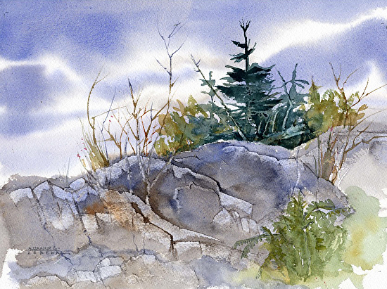 Day Hike - Watercolor
