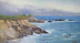 Morning Mist at Leo Carrillo by Jacquelyn Blue