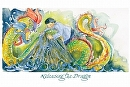 Releasing the Dragon by Sarah Madsen Giclee Print ~ 12 x 18