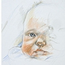 Dear Bambino by Sarah Madsen Pencil ~ 14 x 11