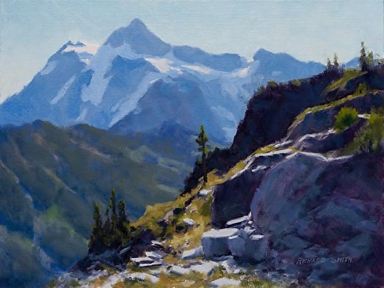 Rockfall View - Oil