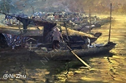 Ni Zhu - Oil Painters of America Western Regional Juried Exhibition of Traditional Oils