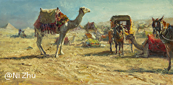 Ni Zhu - American Impressionist Society 22nd  Annual National Juried Exhibition
