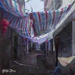 Ni Zhu - American Impressionist Society 21st ANNUAL NATIONAL JURIED EXHIBITION