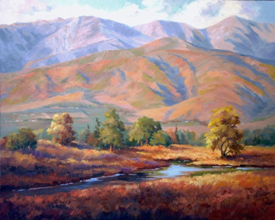 Sandyland Vista - Oil