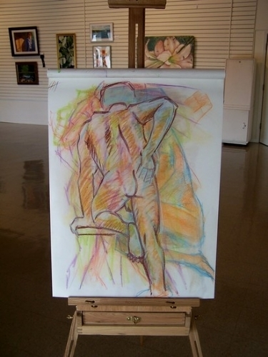 back is talkin again by charles peck Pastel ~ 24 x 18