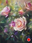 Garden Treasure by Mary Aslin Pastel ~ 12 x 9