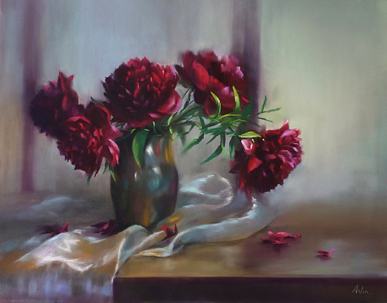Offering by Mary Aslin Pastel ~ 22 x 26