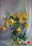 Hope Springs Eternal by Mary Aslin Pastel ~ 23 x 16.5