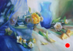 Whispers of the Heart by Mary Aslin Pastel ~ 13.5 x 19.5