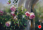 Delight of Days by Mary Aslin Pastel ~ 14 x 20