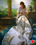 Leeward Shores Windward Dreams by Mary Aslin Pastel ~ 56 x 44