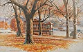 lake geneva by Tom Heflin GICLEE PRINT ON  FINE ART PAPER ~ 16 x 20