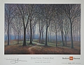 the greening by Tom Heflin lithograph print ~  x