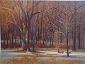 walking the dogs by Tom Heflin GICLEE PRINT ON  FINE ART PAPER ~ 20 x 30