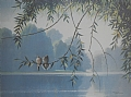 whisper lake by Tom Heflin lithograph print ~  x