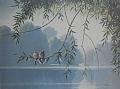 whisper lake by Tom Heflin lithograph print ~  x