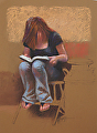 chapter 7 by Tom Heflin Pastel ~ 12 x 9