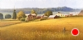 old homestead near galena by Tom Heflin Oil ~ 40 x 60