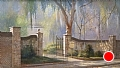 parish church of st. helenes south carolina by Tom Heflin Acrylic ~ 24 x 40