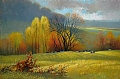 october fields by Tom Heflin Oil ~ 20 x 30