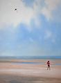 the kite by Tom Heflin Acrylic ~ 40 x 30
