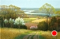 River Valley by Tom Heflin Acrylic ~ 40 x 60