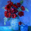 Red Sunflower Bouquet II