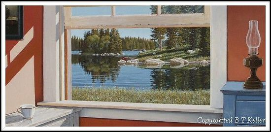 realistic paintings of Midwestern landscapes, realistic art,realistic paintings