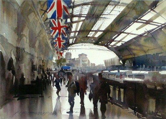 London MassTransit - Watercolor