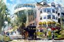 Mackinac Island by Kristi Grussendorf Watercolor ~ 14 x 21