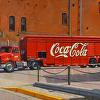 Red Coca Cola Truck