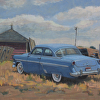 '54 Blue Ford