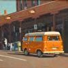 OrangeVW Van