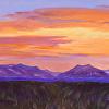 Sunset Over La Platas