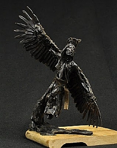 Eagle Dancer by Depot Gallery Bronze ~ 11.5 x 8