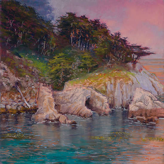 Point Lobos - Pastel