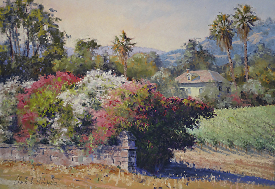 Napa Valley Summertime - Pastel