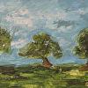 Tres les petite Trees by Gwen Voorhies