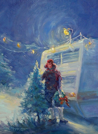 Oh Christmas Tree - Oil